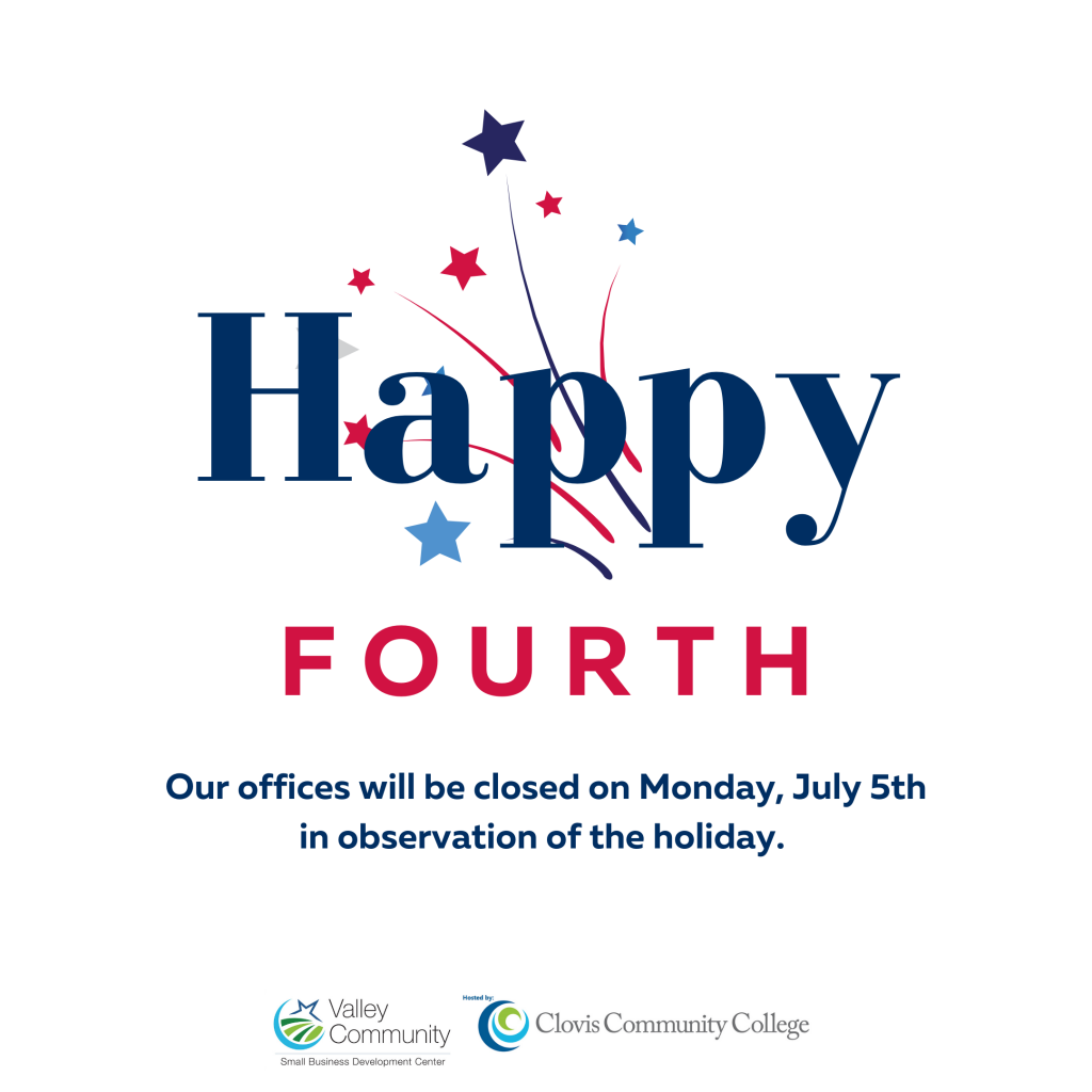 Our offices will be closed Monday 7/5