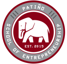 Patino Entrepreneurship High School Logo